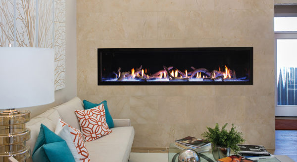 Empire Boulevard Direct Vent Linear Gas Fireplace