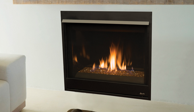 Superior Direct Vent Contemporary Fireplace DRC3500