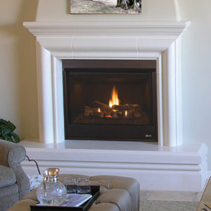Superior Direct Vent Traditional Fireplace DRT3000