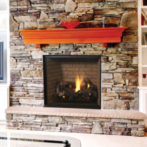 Superior Direct Vent Traditional Fireplace DRT6300