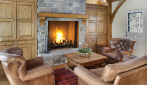 Indoor Wood Burning Fireplaces