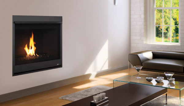 Superior Direct Vent Contemporary Gas Fireplace DRC2000