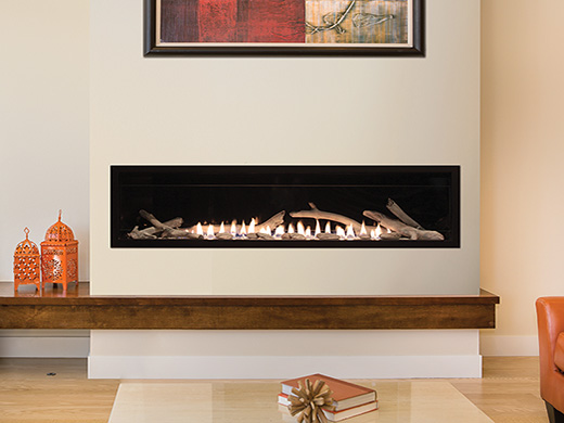 Empire Boulevard Vent Free Gas Fireplace 60""