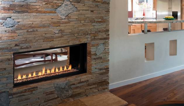 Vent Free Linear Gas Fireplaces