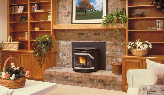 Iron Strike Winslow Pellet Fireplace Insert