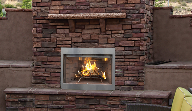 Superior WRE3000 Outdoor Wood Burning Fireplace