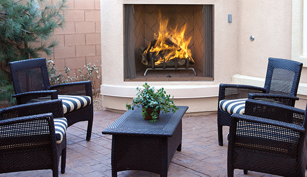Superior WRE6000 Outdoor Wood Burning Fireplace