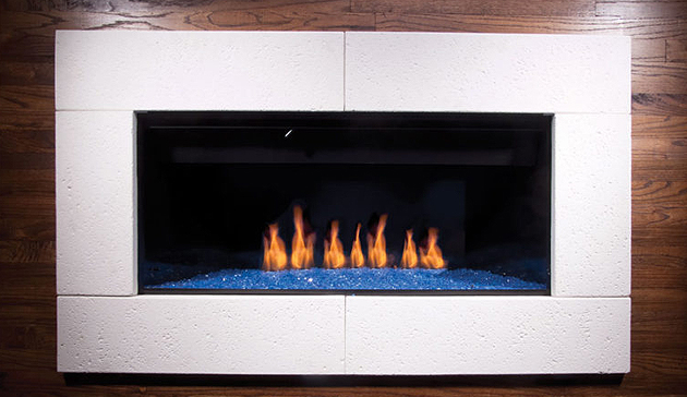 Golden Blount B Vent Gas Fireplace