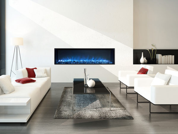 Indoor Electric Linear Fireplaces