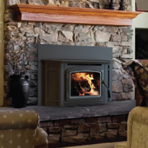 Iron Strike Montlake Wood Fireplace Insert