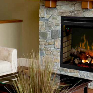 Dimplex Revillusion Traditional Electric Fireplace