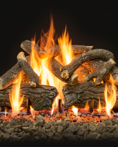 Arizona Weathered Oak Charred Gas Logs 30""