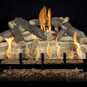 Blue Pine Split Gas Logs 30""