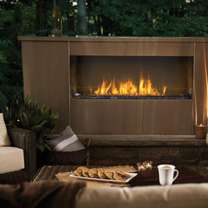 Napoleon Galaxy Linear Outdoor Gas Fireplace