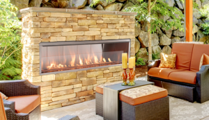 Superior VRE4600 Linear Outdoor Gas Fireplace