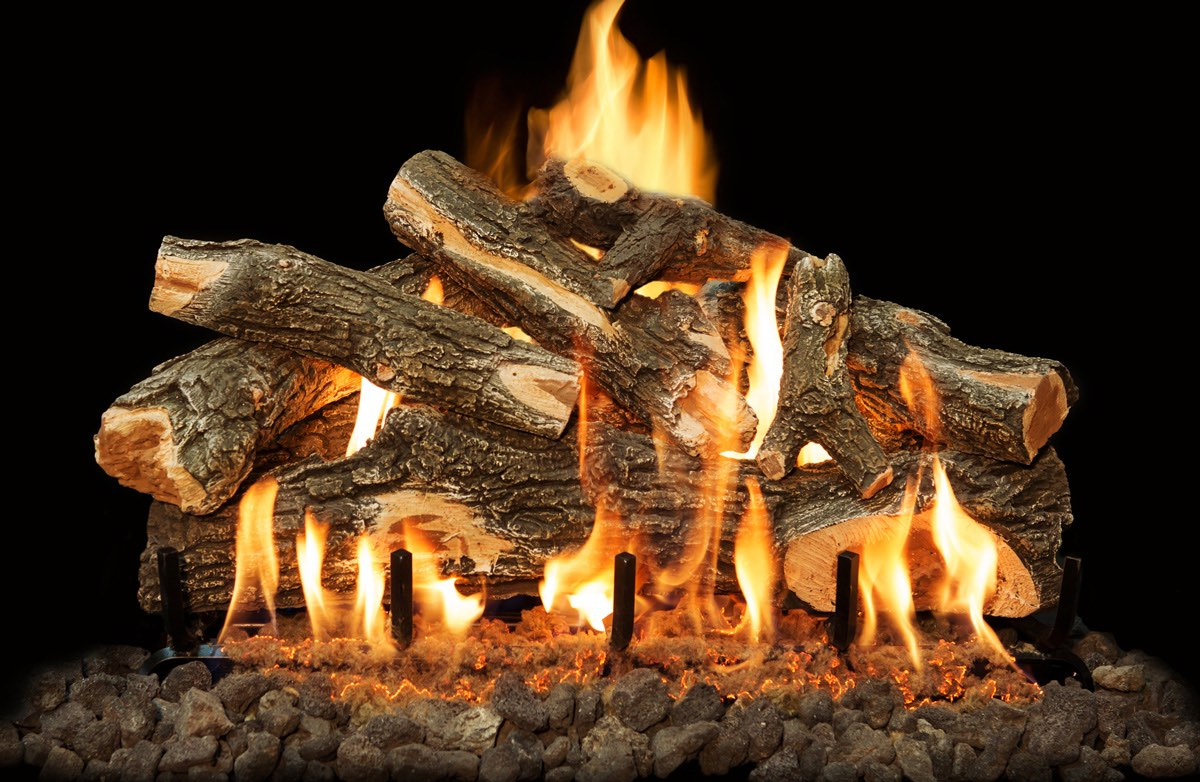Arizona Weathered Oak Gas Logs 30""