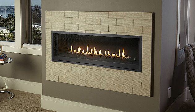 Travis ProBuilder Linear Gas Fireplace 54