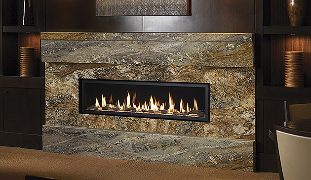 Custom Direct Vent Linear Fireplaces